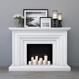 Decorative fireplace 3d model Download  Buy 3dbrute