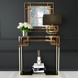 Decorative set 15 3d model Download  Buy 3dbrute