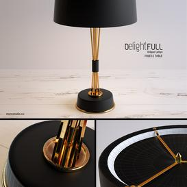 Delightfull - Miles Table light 3d model Download  Buy 3dbrute