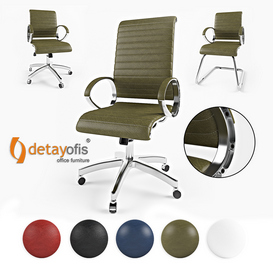 Detay Ofis Complex Office Chair 3d model Download  Buy 3dbrute