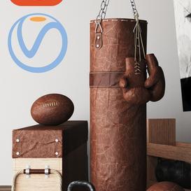 DIY Home Gym In A Box 3d model Download  Buy 3dbrute