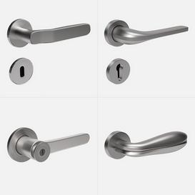 Door handles vol 1 3d model Download  Buy 3dbrute