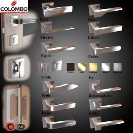 Door knobs 12 pcs 3d model Download  Buy 3dbrute