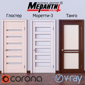Doors Meranti 1 3d model Download  Buy 3dbrute