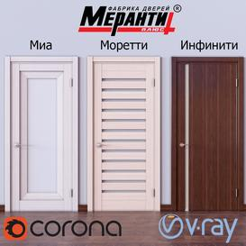 Doors Meranti 2 3d model Download  Buy 3dbrute