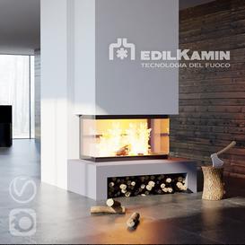 EdilKamin Side 3N 3d model Download  Buy 3dbrute