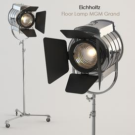 Eichholtz - Floor Lamp MGM Grand 3d model Download  Buy 3dbrute
