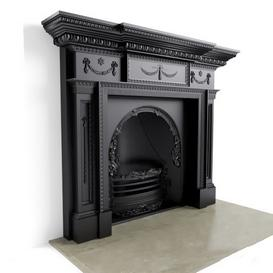 Fireplace F17 3d model Download  Buy 3dbrute