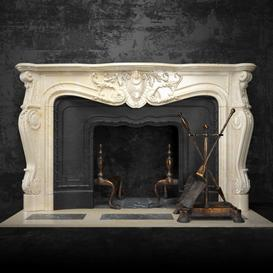 Fireplace F19 3d model Download  Buy 3dbrute