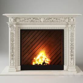 Fireplace F22 3d model Download  Buy 3dbrute