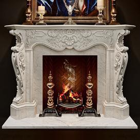 Fireplace F26 3d model Download  Buy 3dbrute