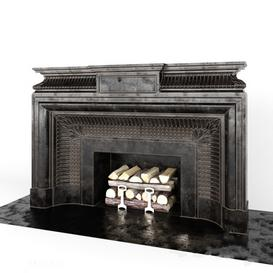 Fireplace F13 3d model Download  Buy 3dbrute