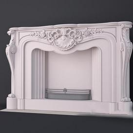 Fireplace F14 3d model Download  Buy 3dbrute