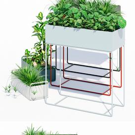 Fermliving plant box 3d model Download  Buy 3dbrute