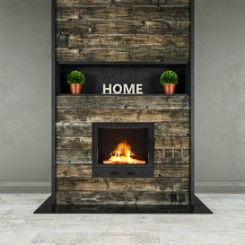 Fireplace4 3d model Download  Buy 3dbrute