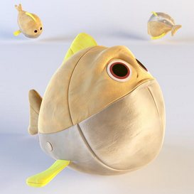 Fish toy 3d model Download  Buy 3dbrute