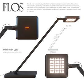Flos Minikelvin LED 3d model Download  Buy 3dbrute