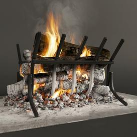 Fireplace F31 3d model Download  Buy 3dbrute