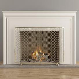 Fireplace F32 3d model Download  Buy 3dbrute