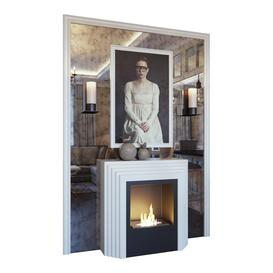 Fireplace sconce 3d model Download  Buy 3dbrute