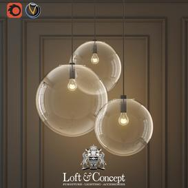 GLASS BALL CEILING LIGHTS 3d model Download  Buy 3dbrute