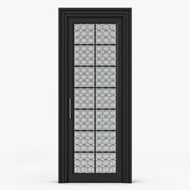 Glass Interior Doors 3d model Download  Buy 3dbrute