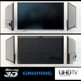 Grundig 55 VLX 8481 BR 3d model Download  Buy 3dbrute