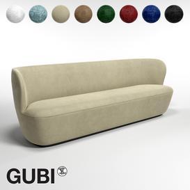 GUBI Stay Sofa W220 3d model Download  Buy 3dbrute