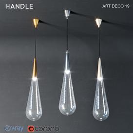 Handlestudio ART DECO 19 3d model Download  Buy 3dbrute
