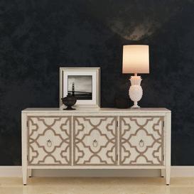 Hooker Furniture Melange Miranda Credenza 3d model Download  Buy 3dbrute