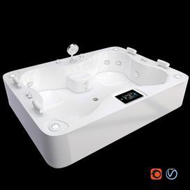 hot tub 3d model Download  Buy 3dbrute