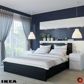 Ikea bed 3d model Download  Buy 3dbrute