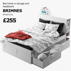IKEA BRIMNES 3d model Download  Buy 3dbrute