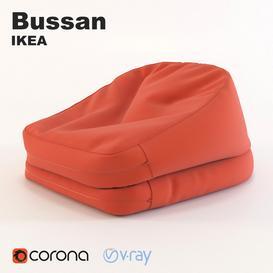 Ikea Bussan 3d model Download  Buy 3dbrute