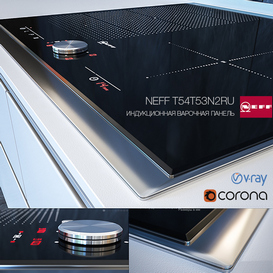 INDUCTION HOBS NEFF T54T53N2RU 3d model Download  Buy 3dbrute