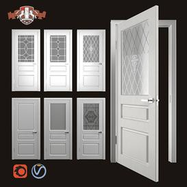 Interior doors Chester 3d model Download  Buy 3dbrute