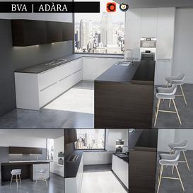 Kitchen BVA Adara 3d model Download  Buy 3dbrute