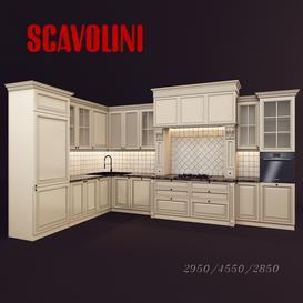 Kitchen model Scavolini 3d model Download  Buy 3dbrute