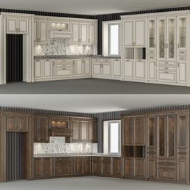 Kitchen set 3d model Download  Buy 3dbrute