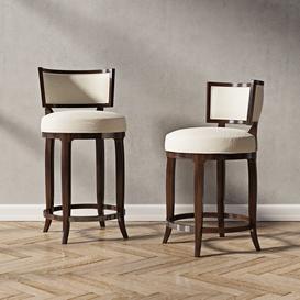 Lexingtone Macau Swiwel Counter and bar stool 3d model Download  Buy 3dbrute