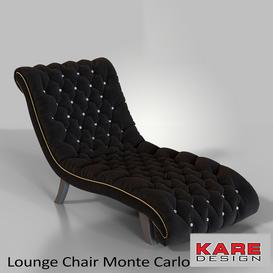 Lounge Chair Monte Carlo 3d model Download  Buy 3dbrute