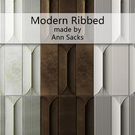 Modern Ribbed by Ann Sacks 3d model Download  Buy 3dbrute
