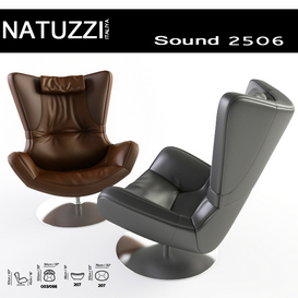 Natuzzi Sound Arm Chair 3d model Download  Buy 3dbrute