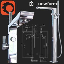 Newform Pura Libera 3d model Download  Buy 3dbrute