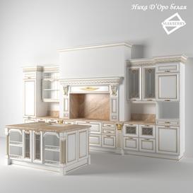 Nick D'Oro's white kitchen 3d model Download  Buy 3dbrute