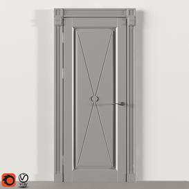 Painted door 3d model Download  Buy 3dbrute
