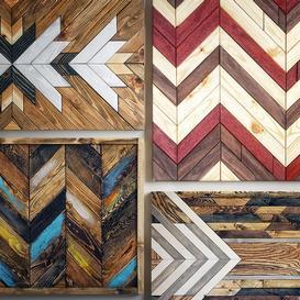 panel wood art 03 3d model Download  Buy 3dbrute
