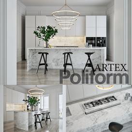 Poliform Varenna Artex 4 3d model Download  Buy 3dbrute