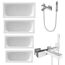 RIHO baths and Newform bath shower mixer 3d model Download  Buy 3dbrute