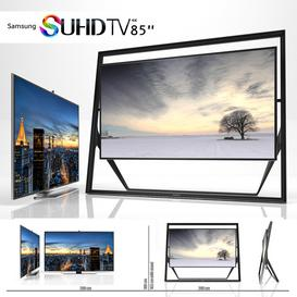 SAMSUNG 85 INCH UHD TV 3d model Download  Buy 3dbrute